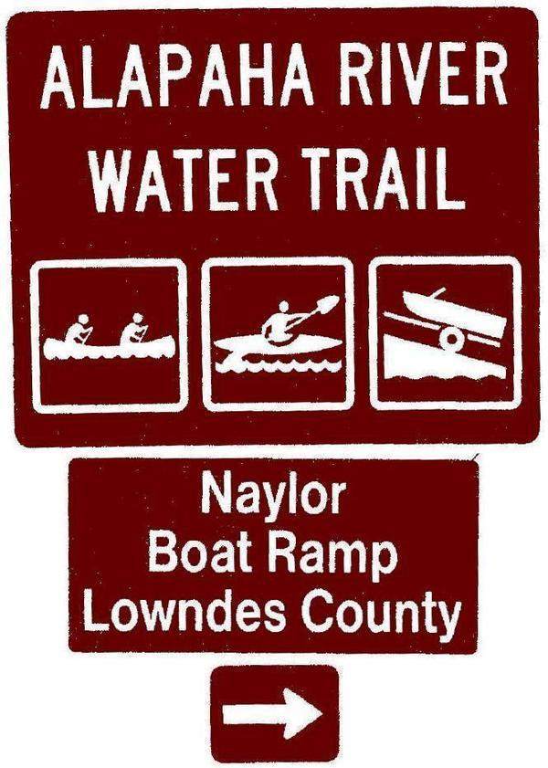 Naylor Boat Ramp, Lowndes County, Right, Posts