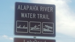 Alapaha River Water Trail, Eastbound