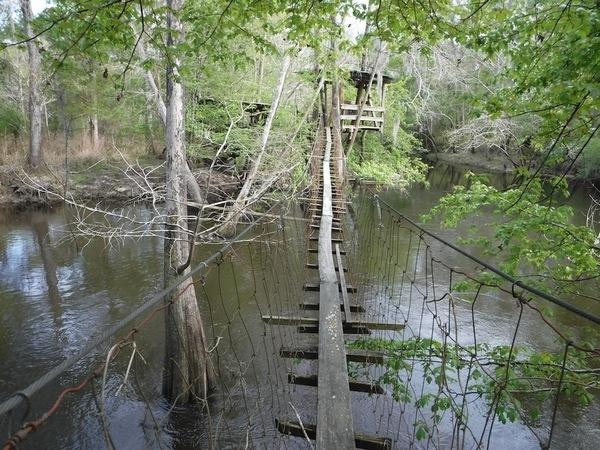 Swing bridge, Colbert Sturgeon