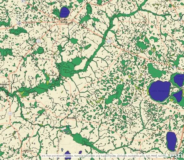Proposed PCS II, Union & Bradford Co., FL, Phosphate mine