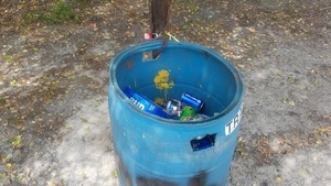 Trash can is working, 2018:05:16 11:10:57,, Beach 30.9251300, -83.0383600