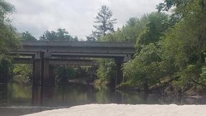 US 84 Bridge and CSX RR Bridge, 2018:05:16 11:11:31,, Bridges 30.9240700, -83.0368700