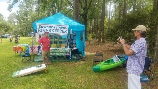 Children, Enviroscape, froggy toss, raffle kayak, Nearby