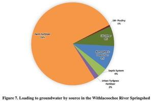 Withlacoochee River Springshed, Loading Sources