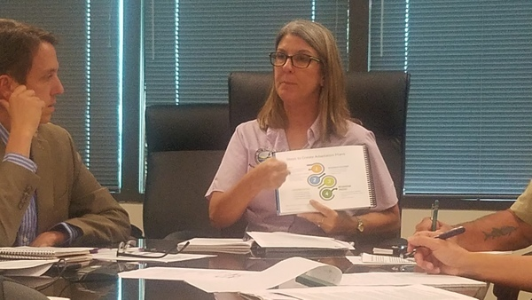 Diagram, Whitney Gray, Administrator, Florida Resilient Coastlines, FL Waterkeepers at FDEP