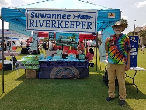 Suwannee Riverkeeper at The Happening, VSU, Erica took this