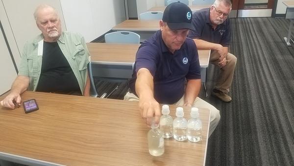 Kenneth Lowe: Four types of effluents, Effluents