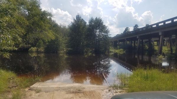 With bridge, Boat Ramp