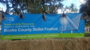 300x169 Solar power, Festival, in Pictures: Brooks County Skillet Festival, by John S. Quarterman, for WWALS.net, 20 October 2018