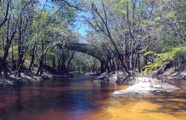 On a summer day, Stone Bridge