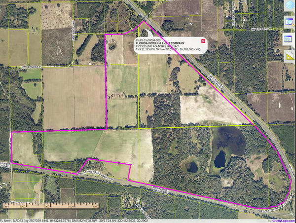 Columbia County Property Appraiser, Maps