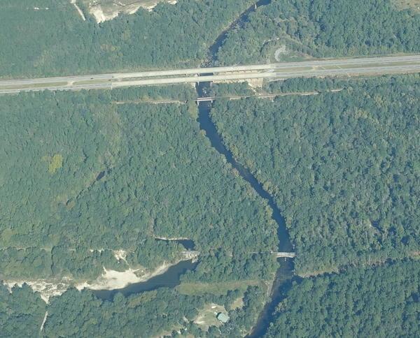 Spook Bridge, Withlacoochee River