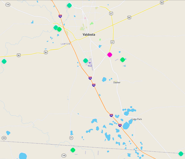 Map, Stations