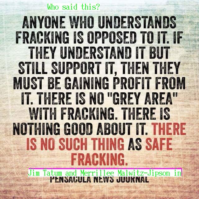 640x640 Now with authors, Meme, in Anyone who understands fracking opposes it, by Tatum & Jipson, for WWALS.net, 12 April 2015