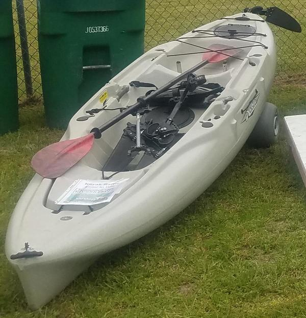 With rudder, Raffle Kayak
