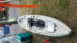 Front, Raffle Kayak