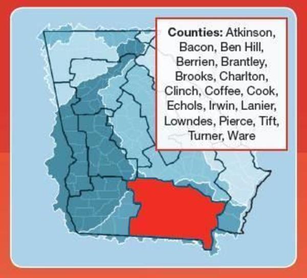 Counties, Region