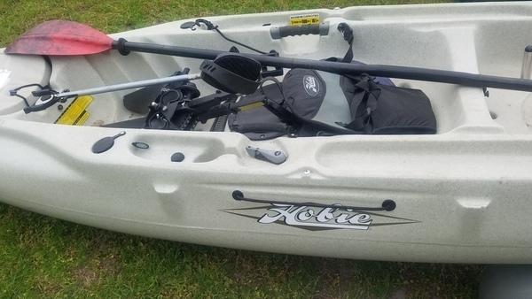 With peddles, Raffle Kayak
